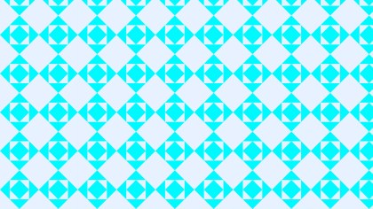 Cyan Square Pattern Background Illustration