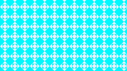 Cyan Square Background Pattern Design