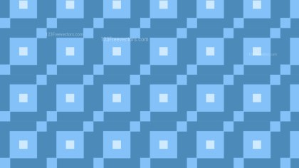 Blue Geometric Square Pattern Image