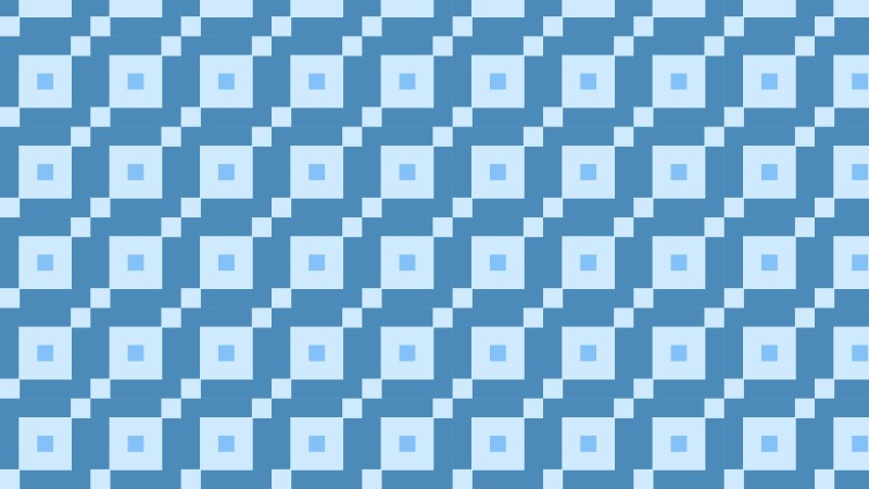 Blue Geometric Square Background Pattern Vector Image