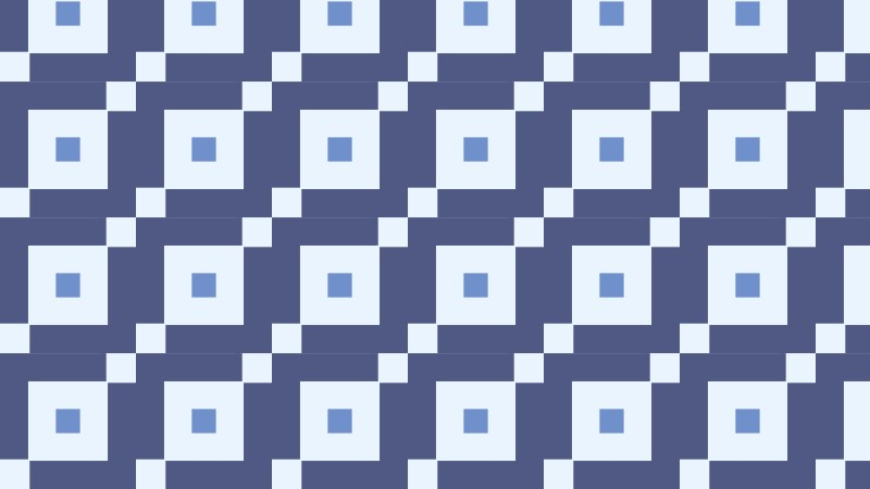 Blue Seamless Square Pattern Illustrator