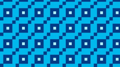 Blue Seamless Geometric Square Pattern Background Graphic