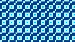 Blue Seamless Geometric Square Background Pattern Illustration