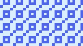 Blue Square Pattern