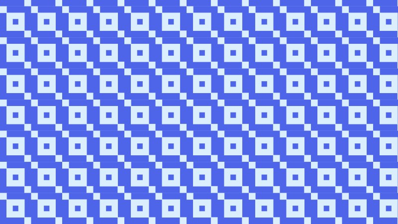 Blue Square Pattern Background