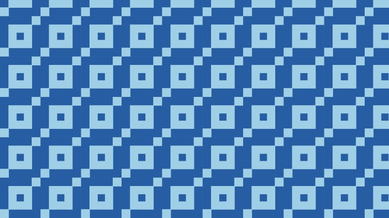 Blue Square Background Pattern