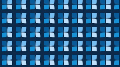 Dark Blue Seamless Geometric Square Pattern Background