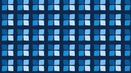 Dark Blue Seamless Geometric Square Pattern Background