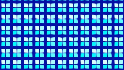 Blue Square Pattern Vector Graphic