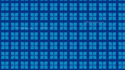 Blue Geometric Square Pattern Vector Illustration