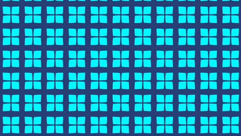 Blue Geometric Square Pattern Background Vector