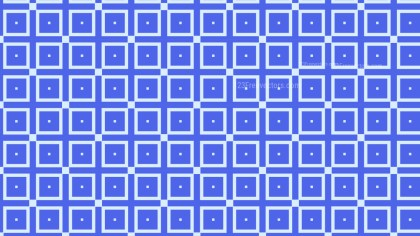 Cobalt Blue Seamless Square Pattern Background Illustration