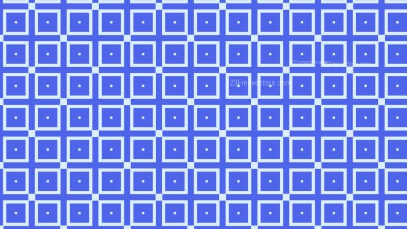 Cobalt Blue Seamless Square Pattern Background Illustration