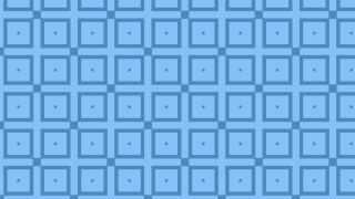 Blue Seamless Square Background Pattern Design