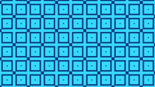Blue Seamless Geometric Square Pattern Background Vector Graphic