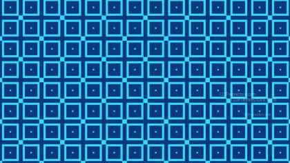 Blue Seamless Geometric Square Background Pattern Vector Image