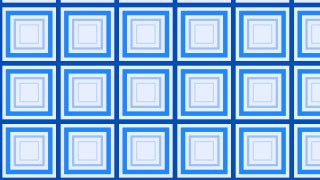 Blue Concentric Squares Background Pattern