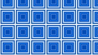 Blue Seamless Concentric Squares Pattern