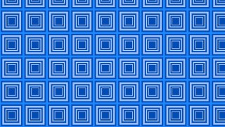 Blue Seamless Concentric Squares Pattern Background