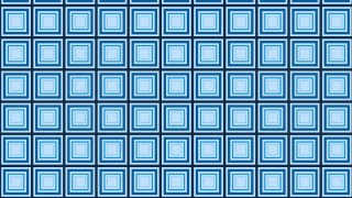 Blue Concentric Squares Pattern Design