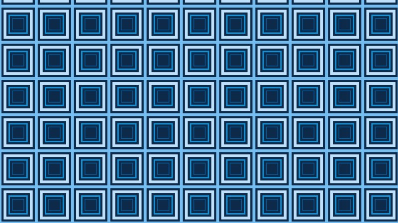 Dark Blue Concentric Squares Pattern Background Image