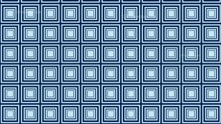 Blue Seamless Concentric Squares Pattern Vector Image