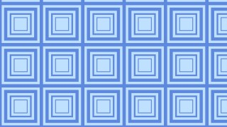 Blue Seamless Concentric Squares Pattern Background Illustrator