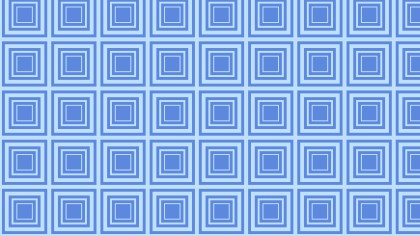 Blue Seamless Concentric Squares Background Pattern Vector Illustration