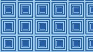 Blue Concentric Squares Pattern