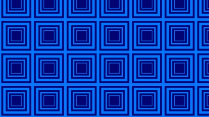 Royal Blue Concentric Squares Background Pattern