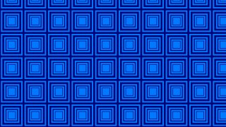 Royal Blue Seamless Concentric Squares Pattern