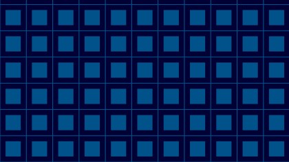 Navy Blue Square Pattern
