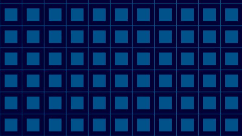 Navy Blue Square Pattern