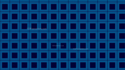 Navy Blue Square Pattern Background