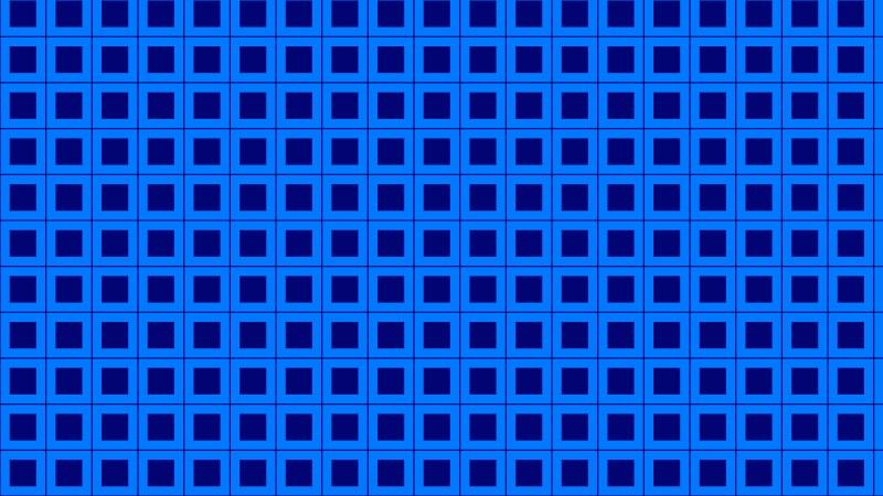 Royal Blue Geometric Square Pattern Background