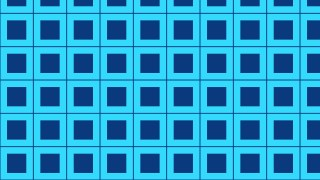 Blue Seamless Square Pattern