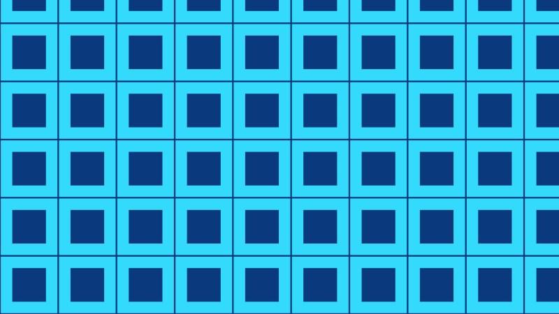 Blue Seamless Square Pattern