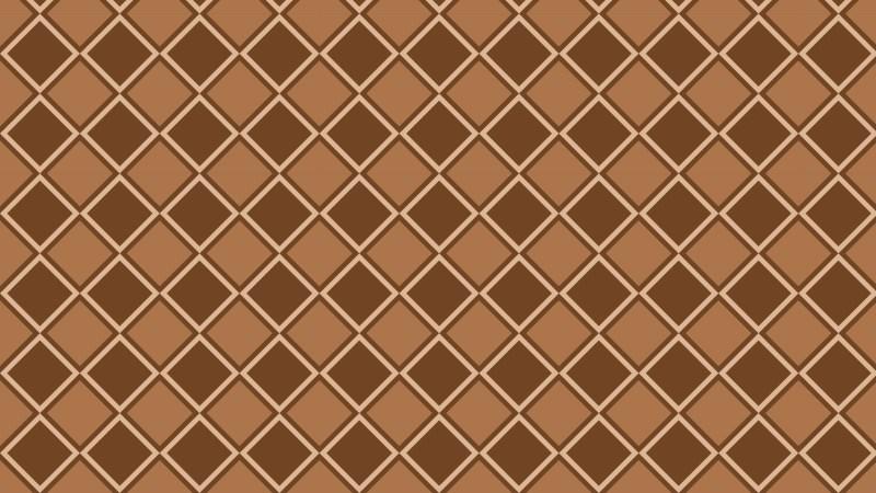 Brown Seamless Geometric Square Pattern Background