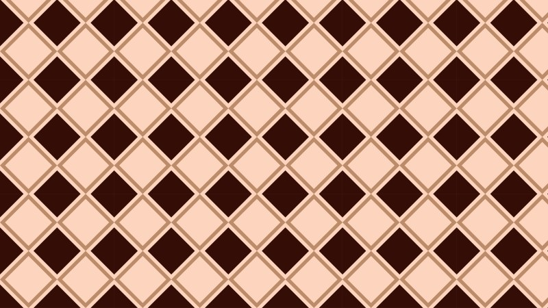 Brown Square Pattern Background Vector Art