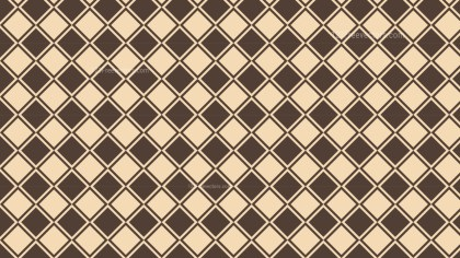 Brown Geometric Square Pattern Background Design