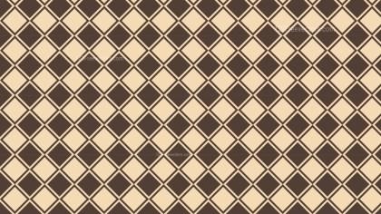 Brown Geometric Square Pattern Background Design