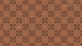 Brown Seamless Square Background Pattern Illustrator
