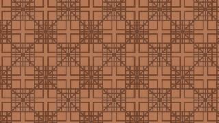 Brown Seamless Geometric Square Pattern Vector Illustration