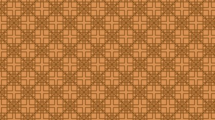 Brown Seamless Geometric Square Background Pattern Vector Art
