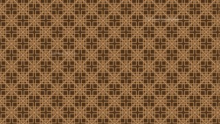 Brown Square Pattern