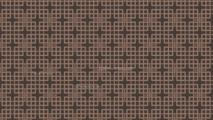 Dark Brown Seamless Square Background Pattern