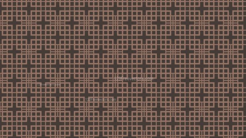 Dark Brown Seamless Square Background Pattern