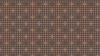 Dark Brown Seamless Geometric Square Pattern