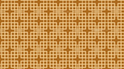 Brown Square Pattern Design