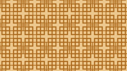 Brown Square Pattern Background Image